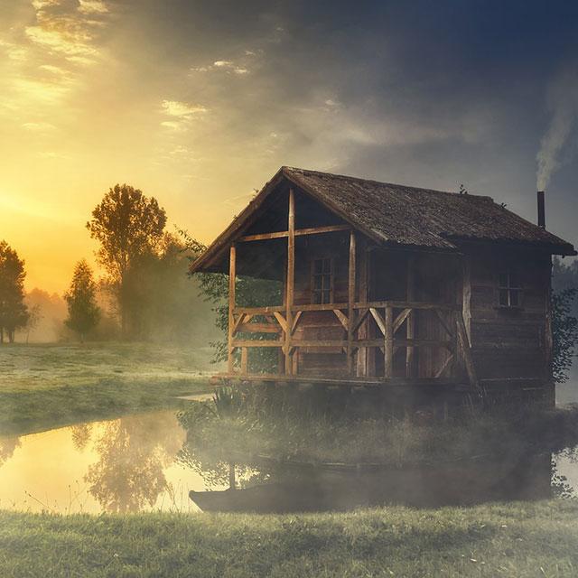 """""""Die Hütte"""" @ Hütte im Chiemgau"""